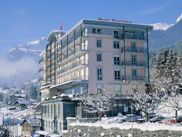 Belvedere Swiss Quality Hotel Grindelwald Winter