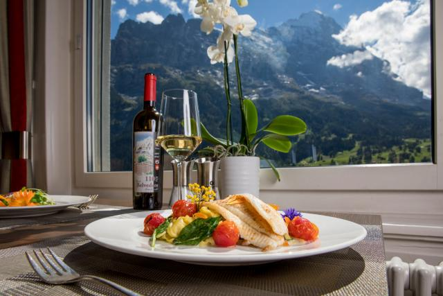Essen Food 32 Restaurant Belvedere Swiss Quality Hotel Grindelwald