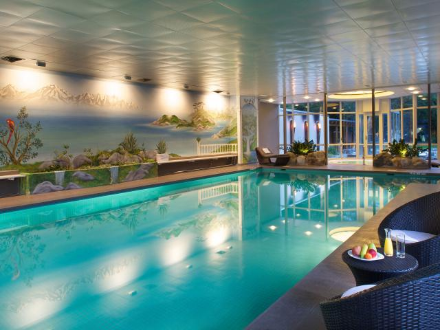 Swimming Pool - Hotel Belvedere Grindelwald