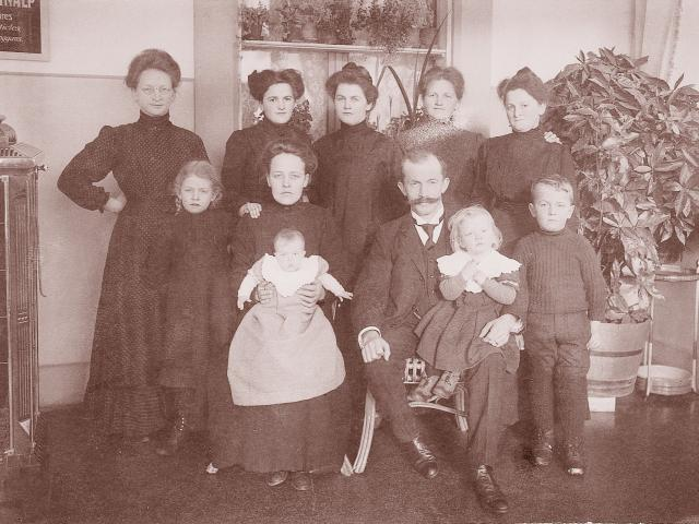Family Hauser, 1st Generation