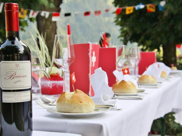1. August Swiss National Day Belvedere Swiss Quality Hotel Grindelwald