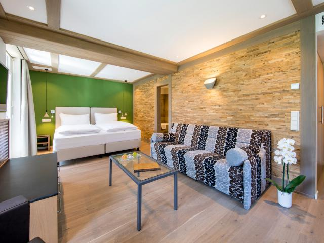 Deluxe Double or Twin Room Eiger with sofa bed Belvedere Swiss Quality Hotel Grindelwald