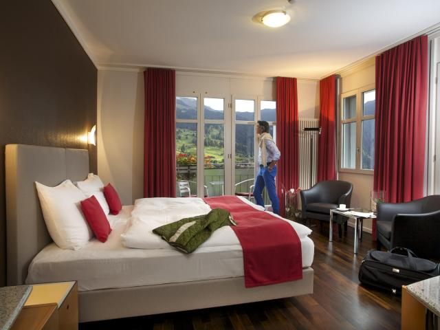 Classic Twin or Double room Eiger Belvedere Swiss Quality Hotel Grindelwald