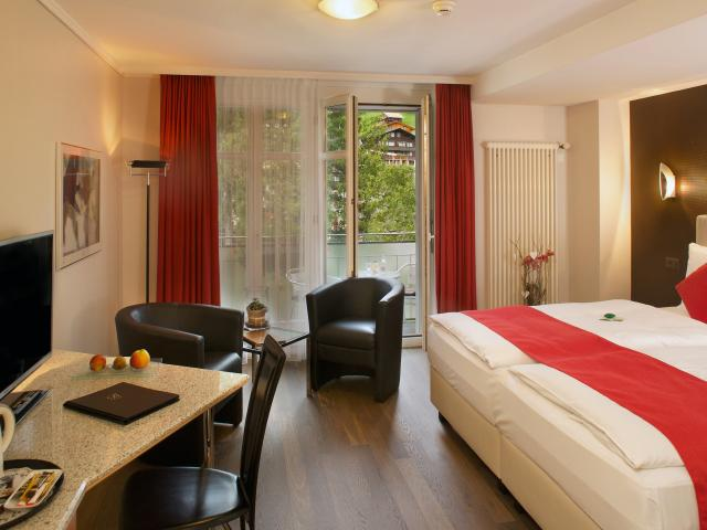 Standard Twin or Double room Wetterhorn Belvedere Swiss Quality Hotel Grindelwald